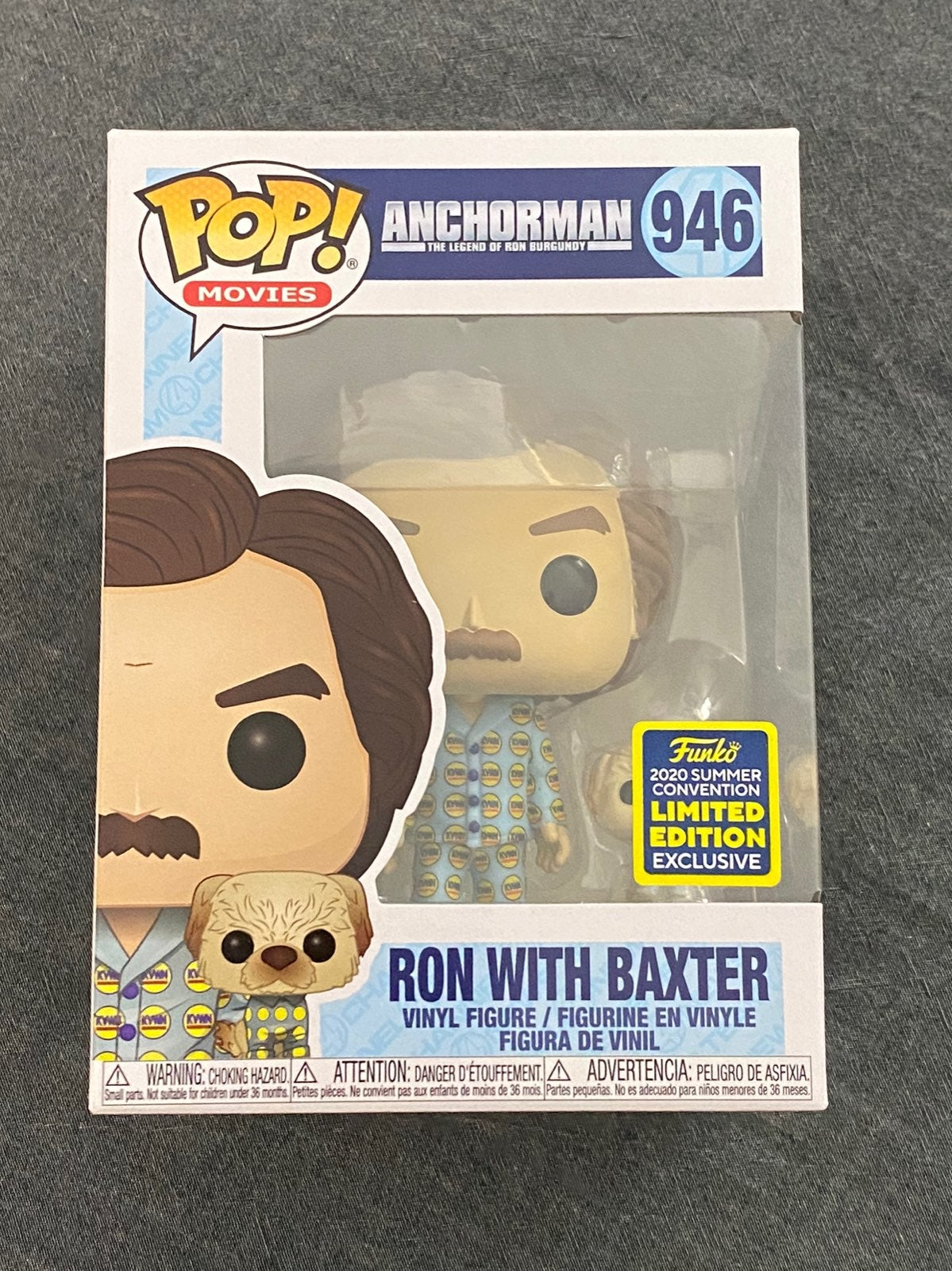 Ron with Baxter Funko Pop 946 SDCC 2020