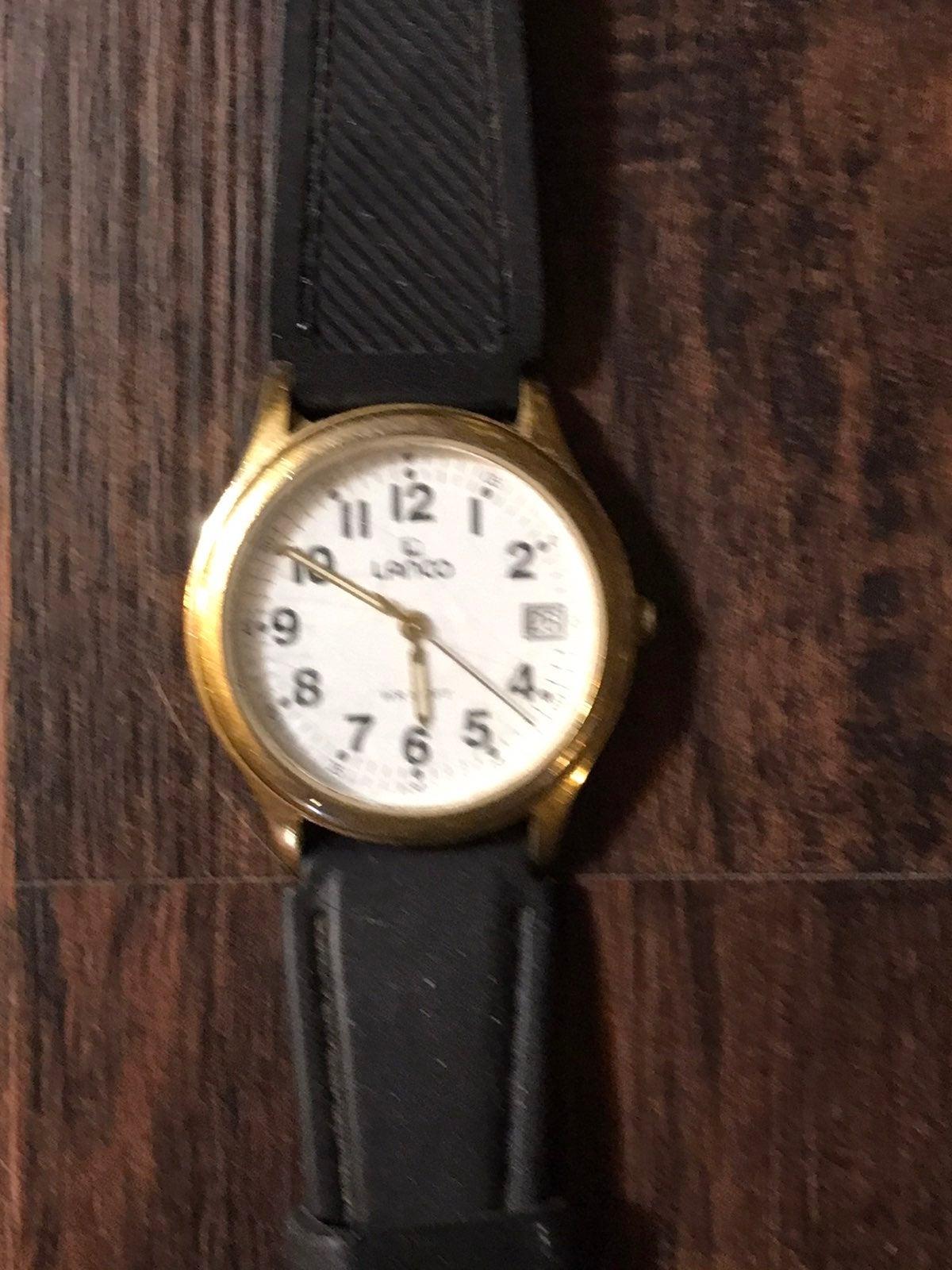 Lanco Black Unisex Watch