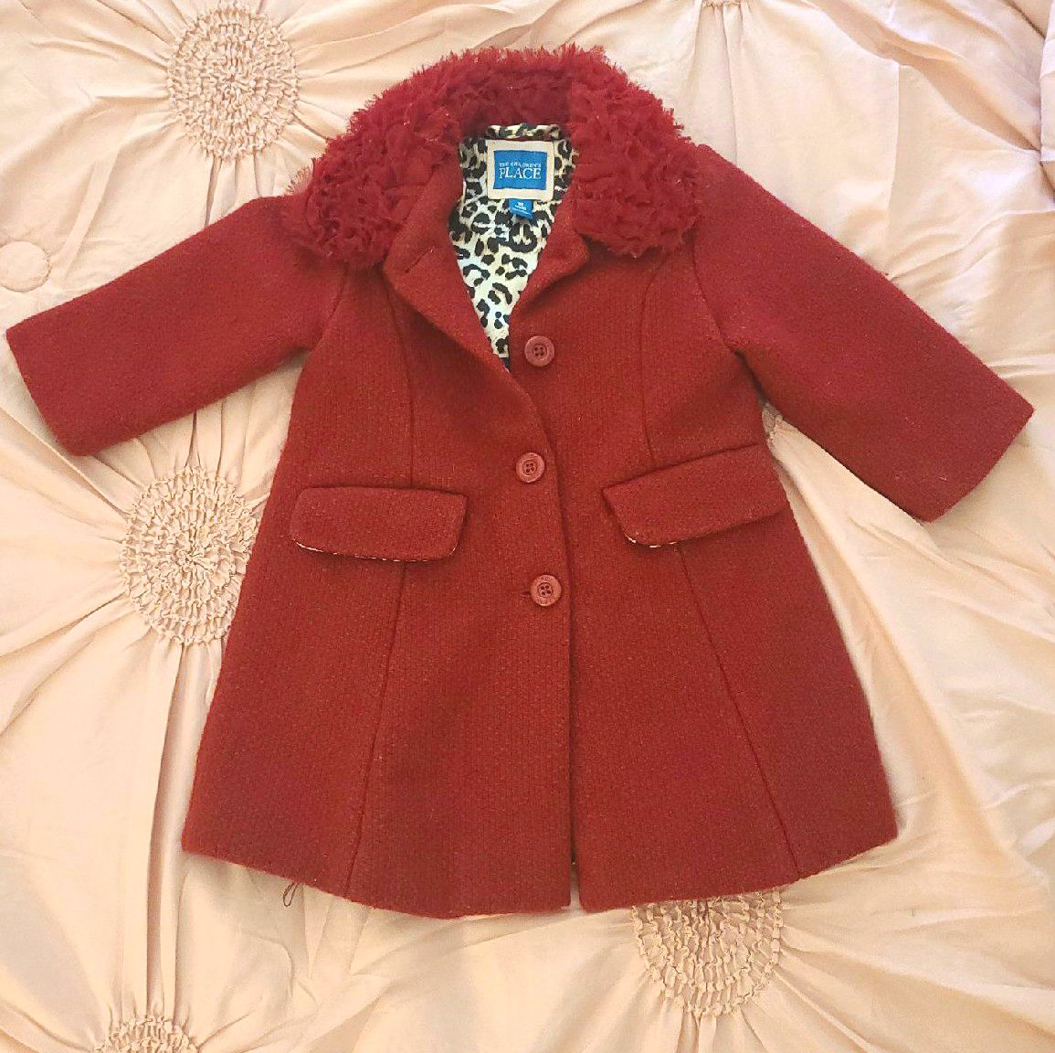 Nice Wool Coat like new size 18m Child P