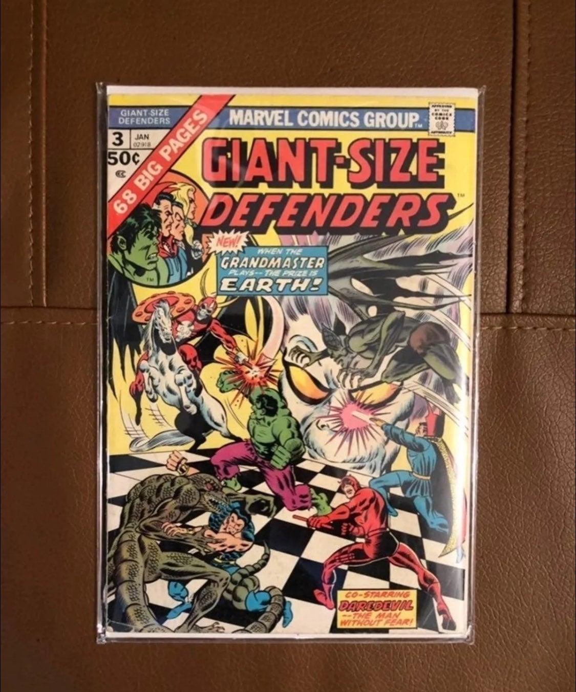 Giant Size Defenders 3 1st Korvac MCU
