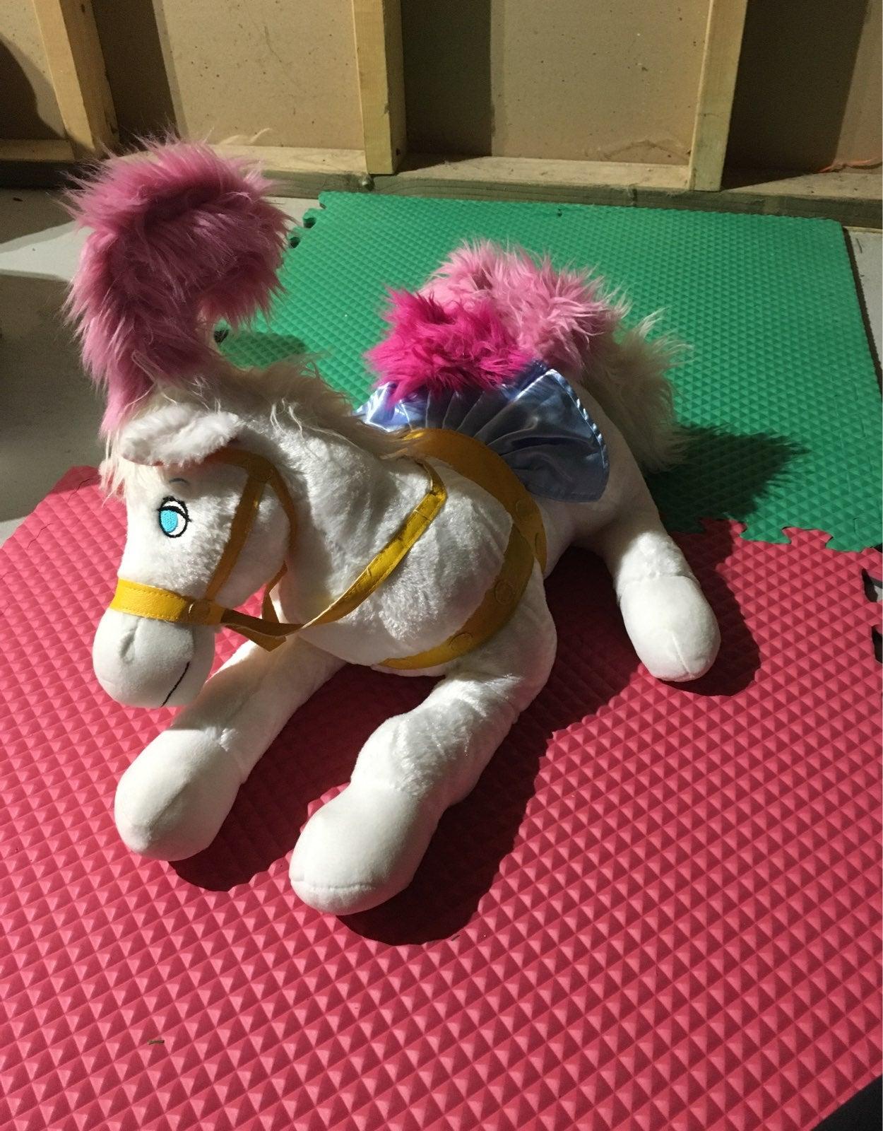 Cinderella coach horse disney plush