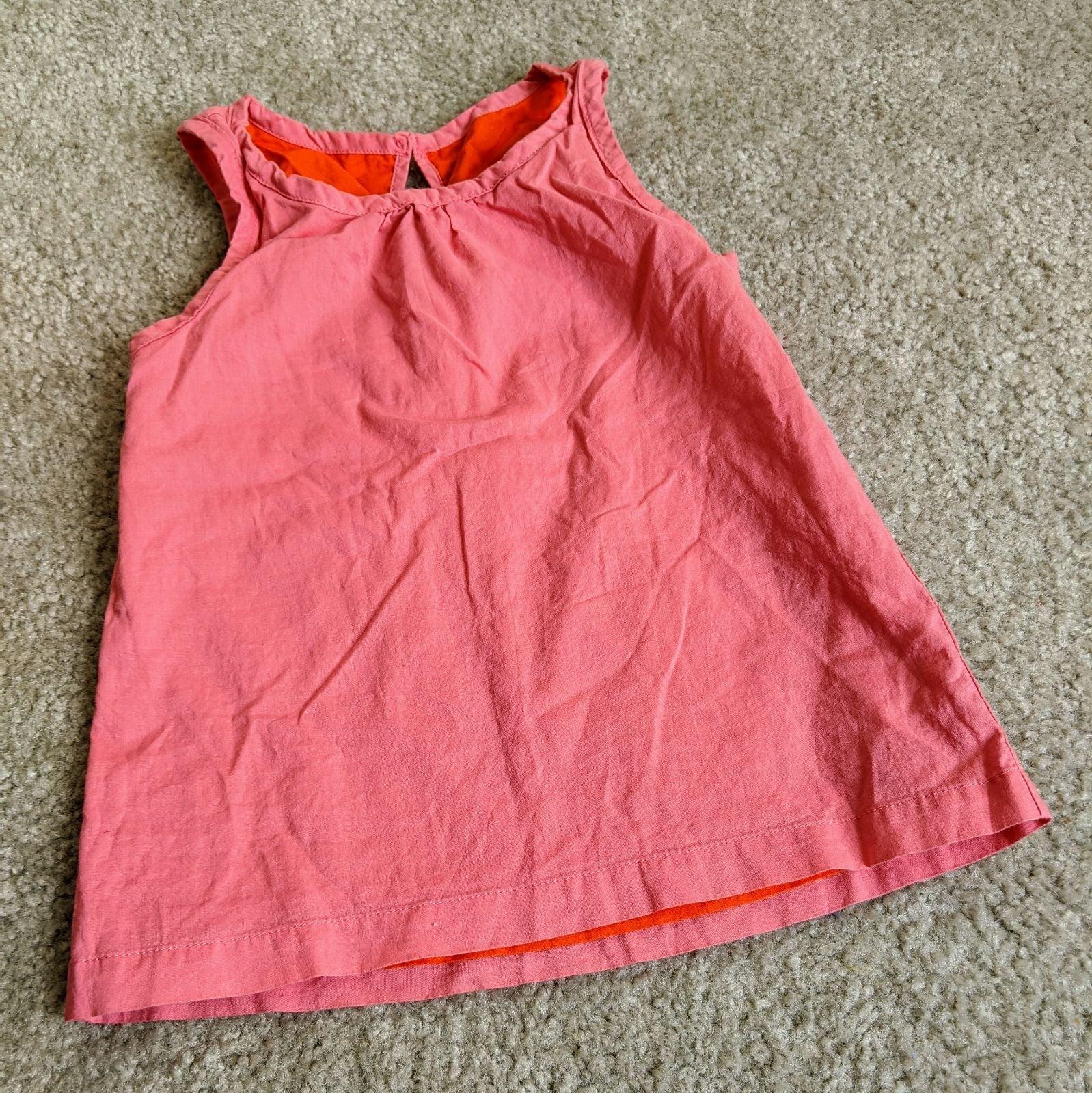 Primary cotton reversible top