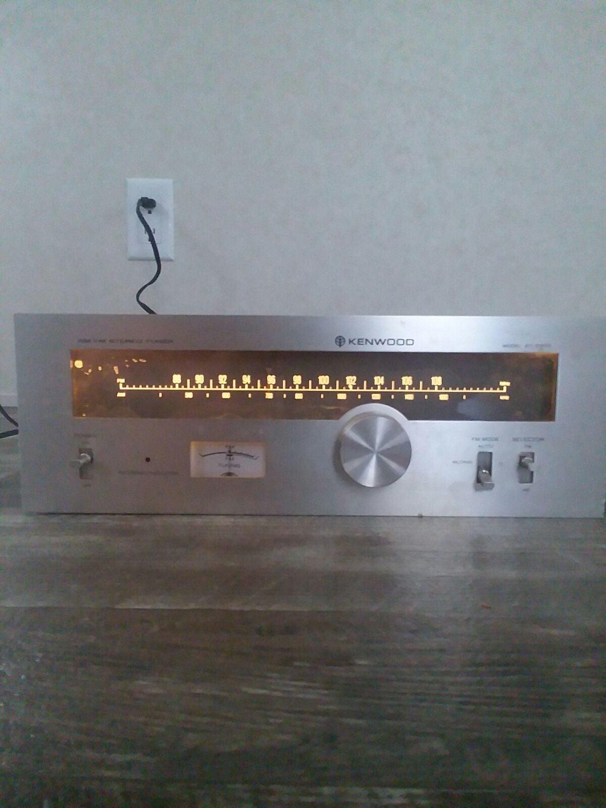Vintage kenwood tuner model kt-5300