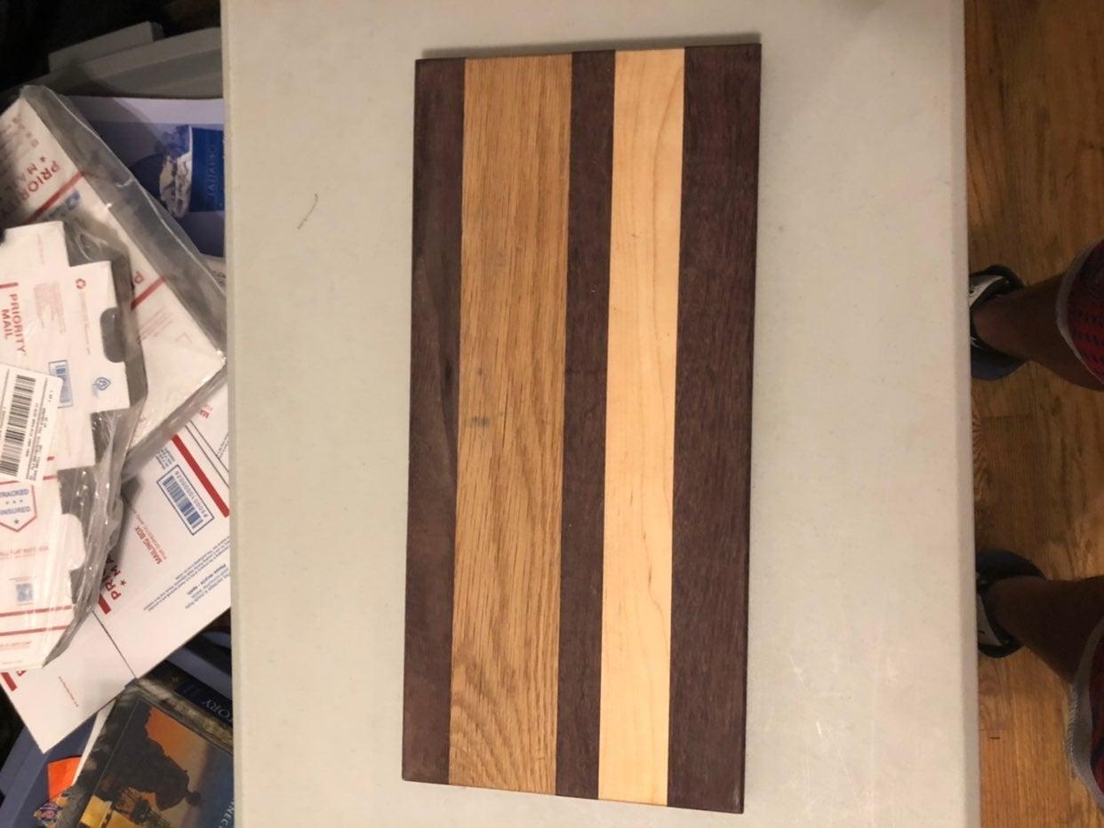 Genuine Bambo And Hardward cutting board