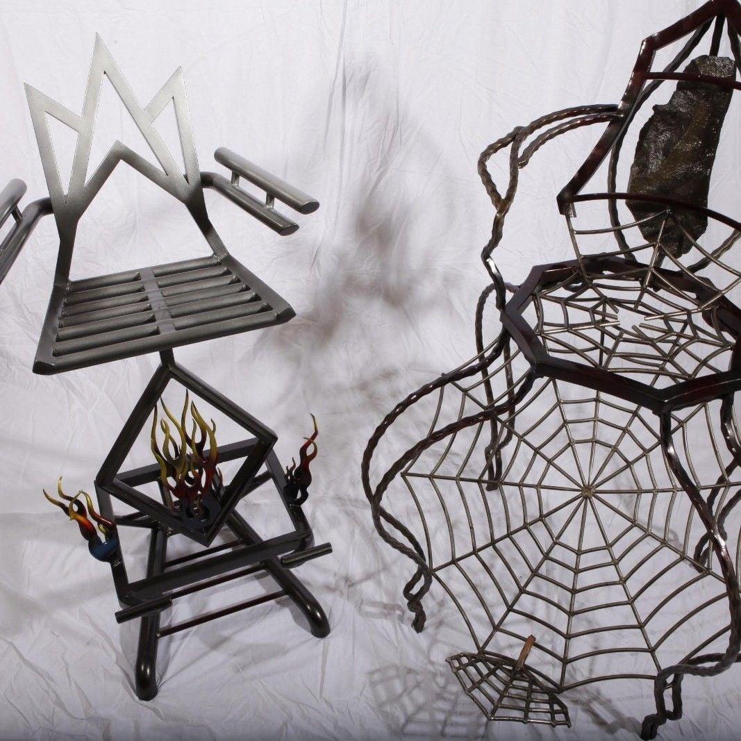 Badass Charlotte's web inspired chair!