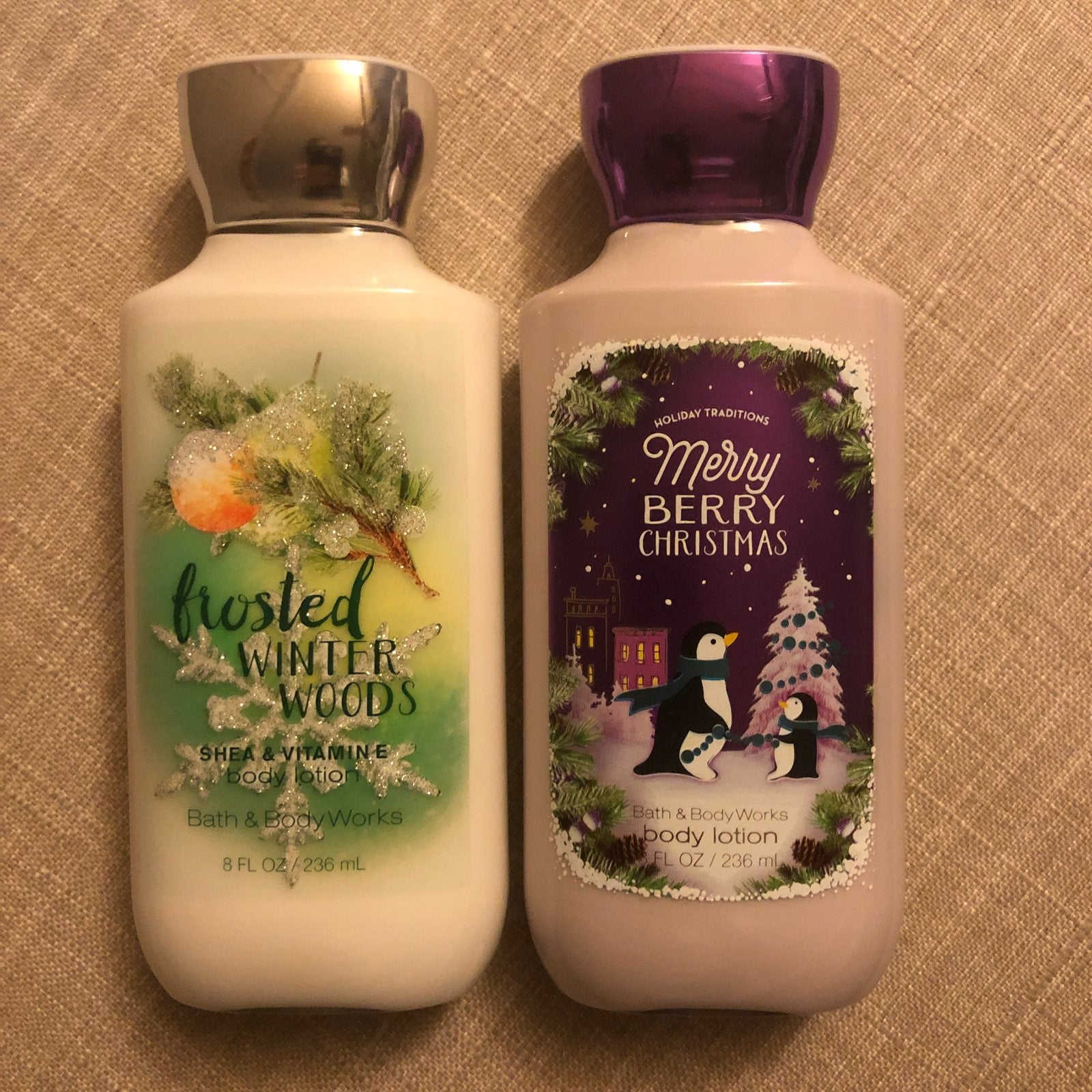 Bath and Body Works lotion Bundle