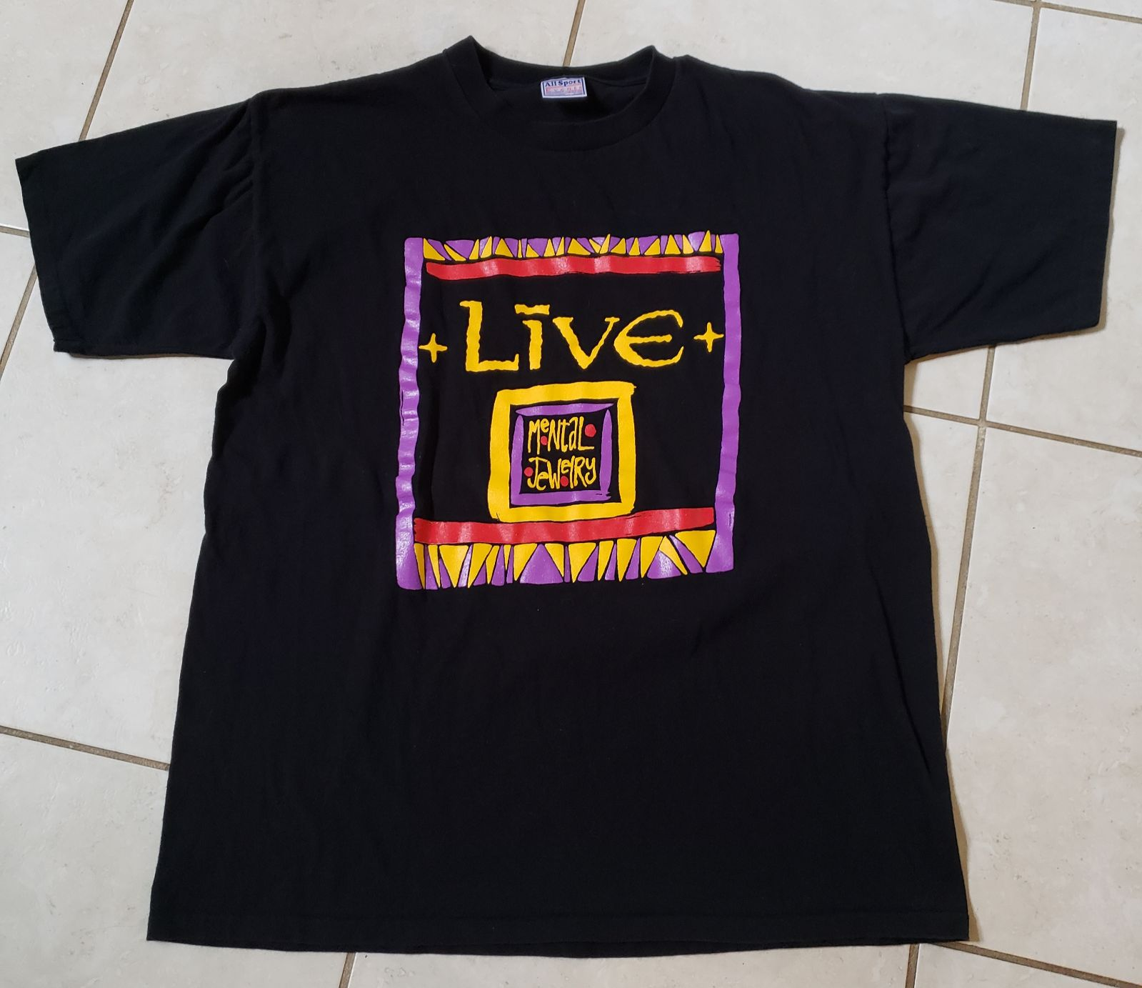 LIVE MENTAL JEWELRY CONCERT TOUR SHIRT
