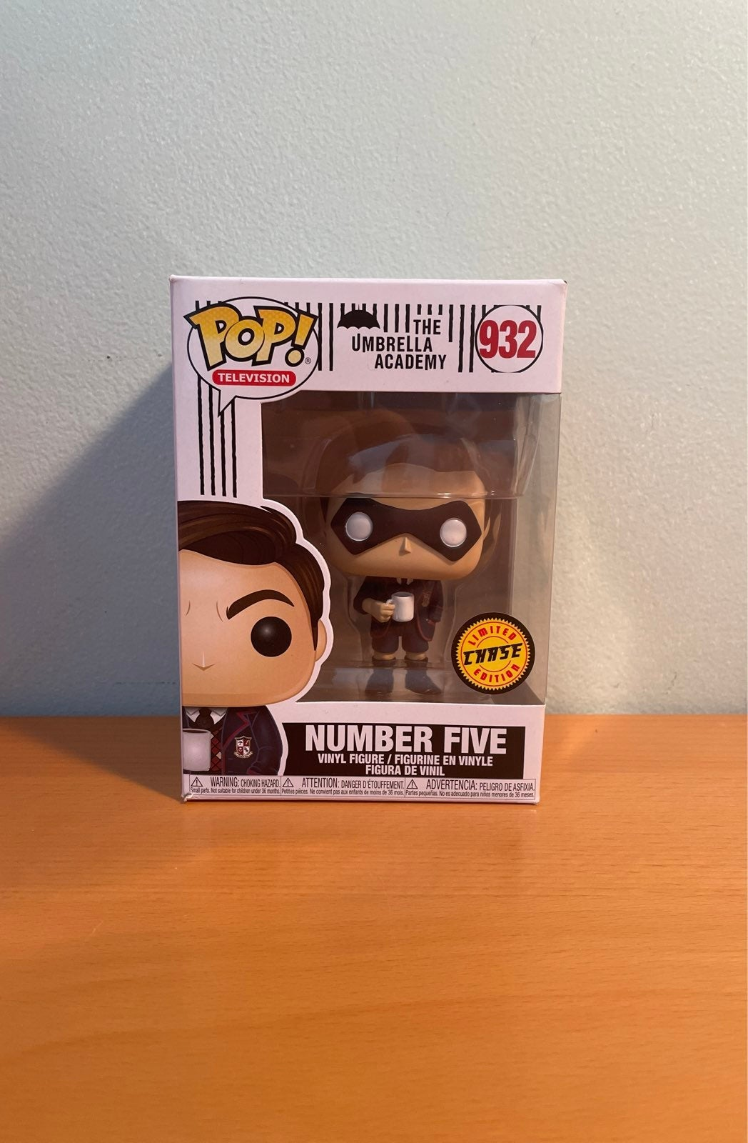 Number Five chase Funko Pop