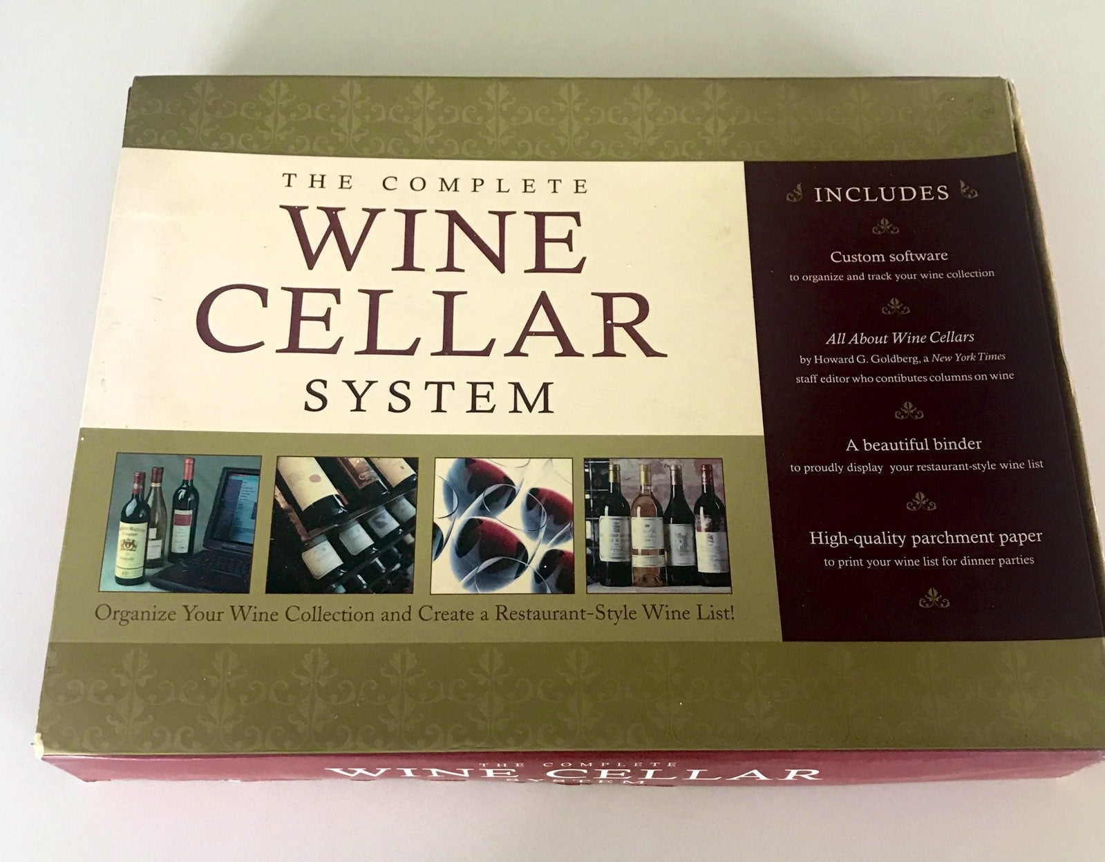 The Complete Wine Cellar System
