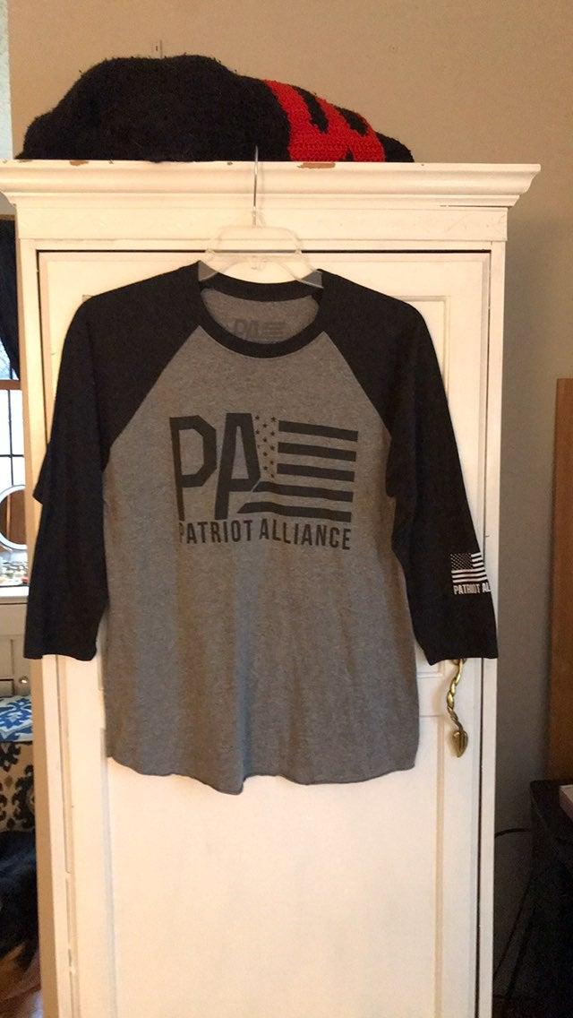 Patriot alliance baseball tee