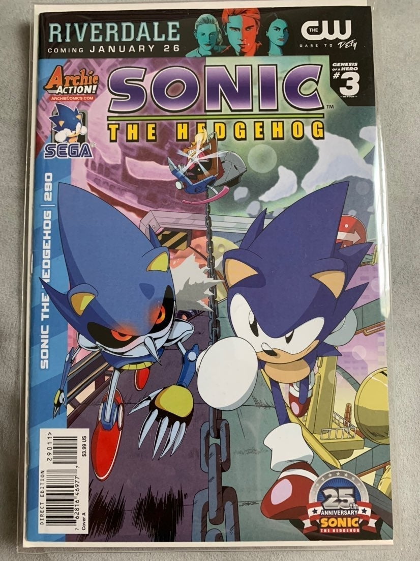 SONIC THE HEDGEHOG Issue #290 Archie Com