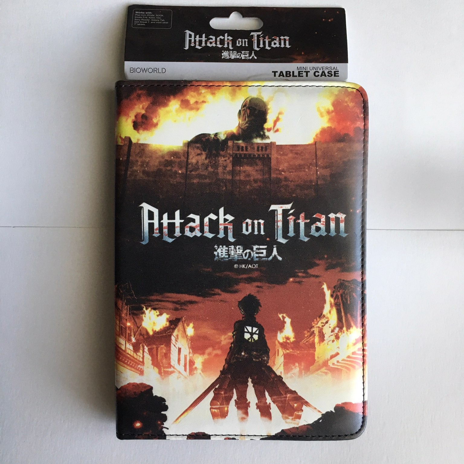 Attack on Titan Tablet Case NWT