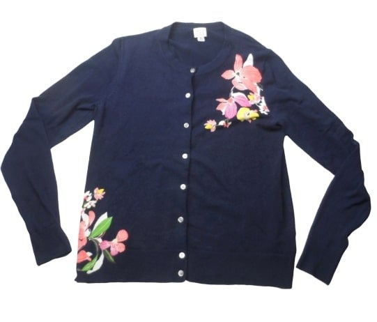 a New Day Navy Blue Cardigan Sweater M