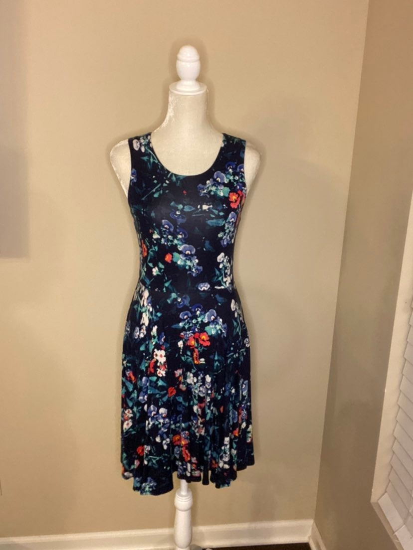 Adrienne Vittadini | Floral Dress (S)