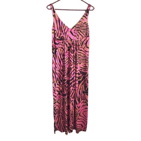 CAbi tiger stripe maxi dress #109