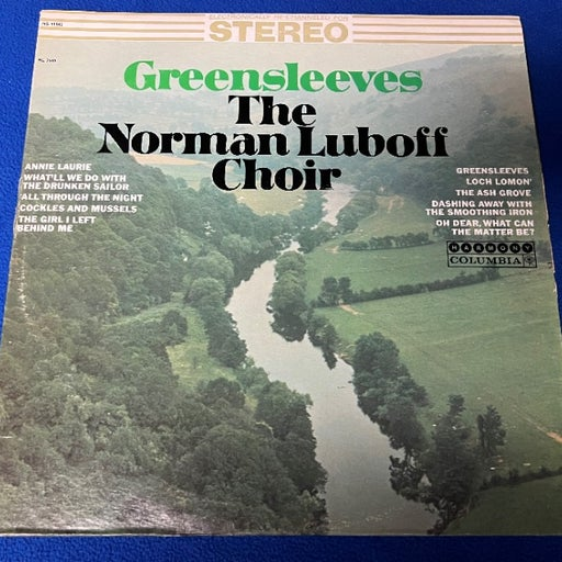 Greensleeves The Norman Luboff Vinyl Record