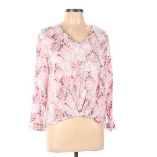 Cynthia Rowley printed low high blouse L