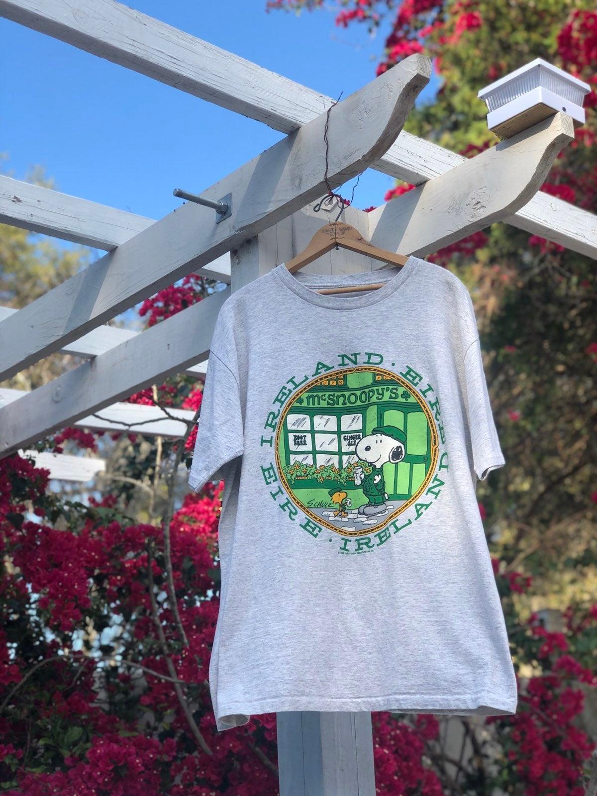 Vintage Snoopy Ireland Tshirt