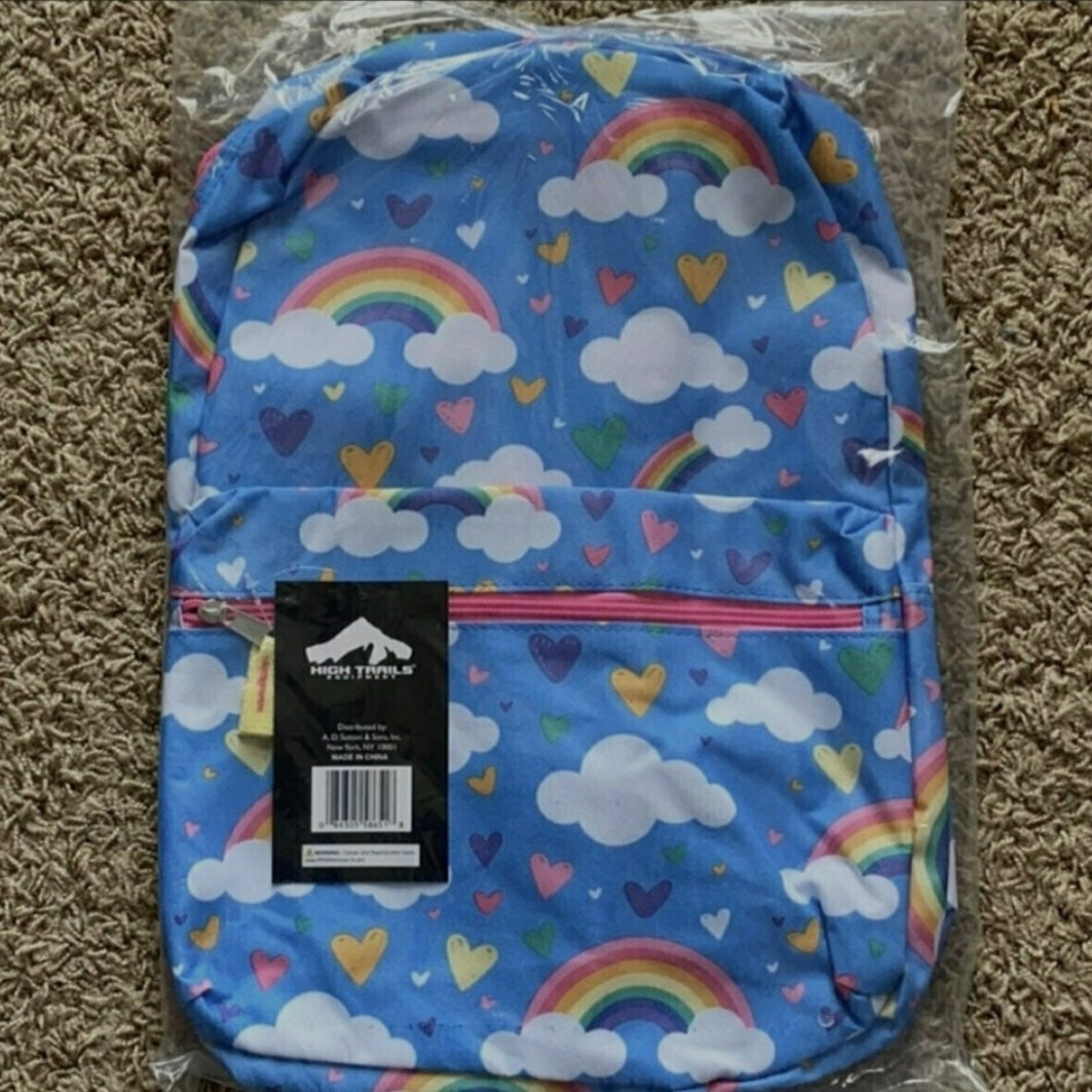 17 Inches Girl's & Boys Printed Backpack