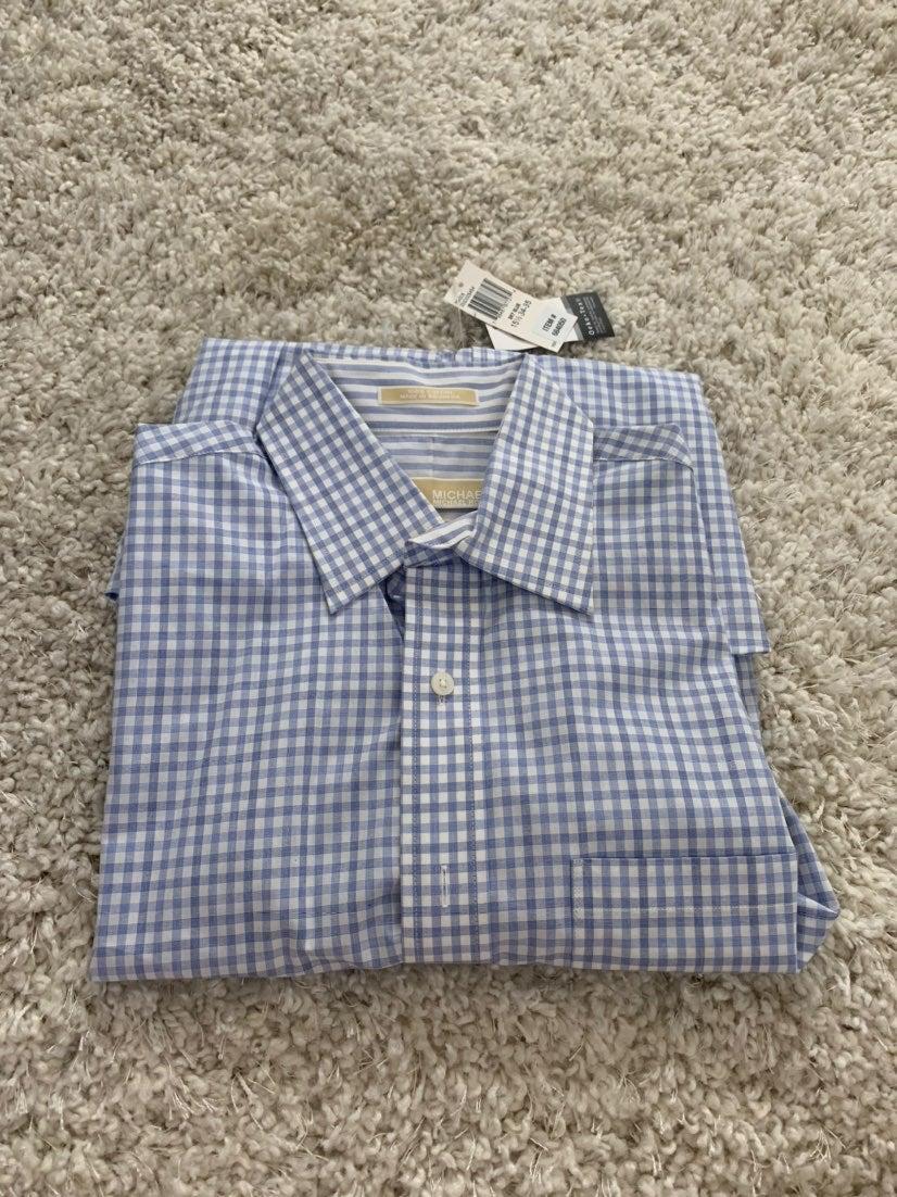 Men's Michael Kors Stripped Dress Shirt