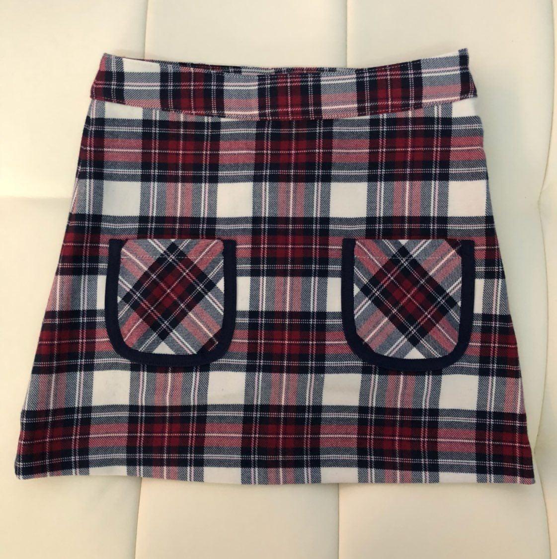 NWT Brooks Brothers Girls Plaid Skirt 5