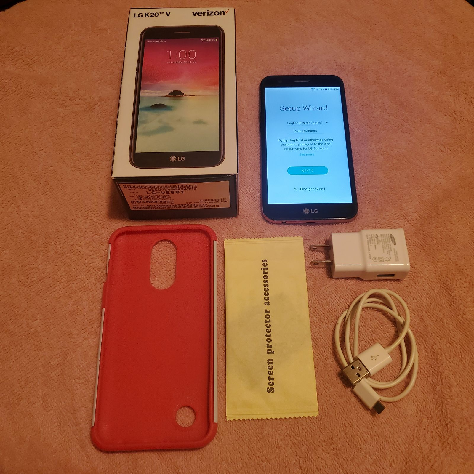 Verizon LG Phone K20 V
