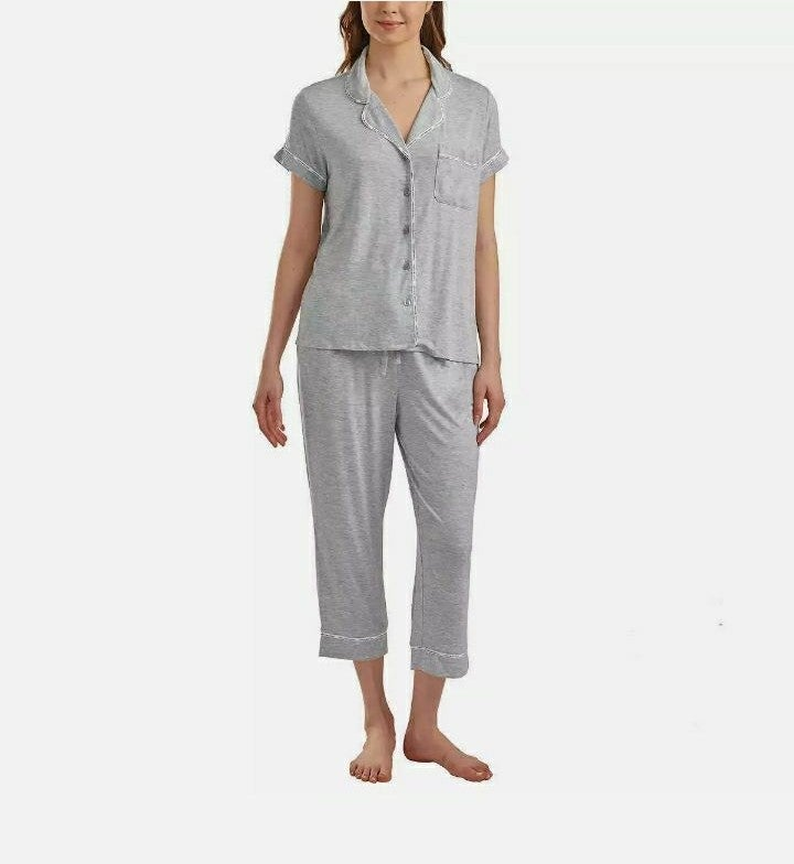 Tommy Hilfiger Women's Notch Collar PJ