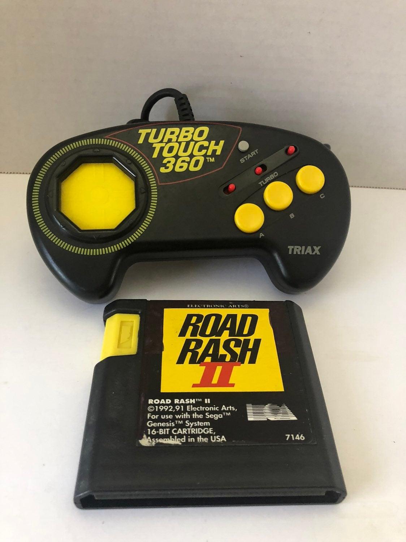 Road Rash 2 Sega Genesis game