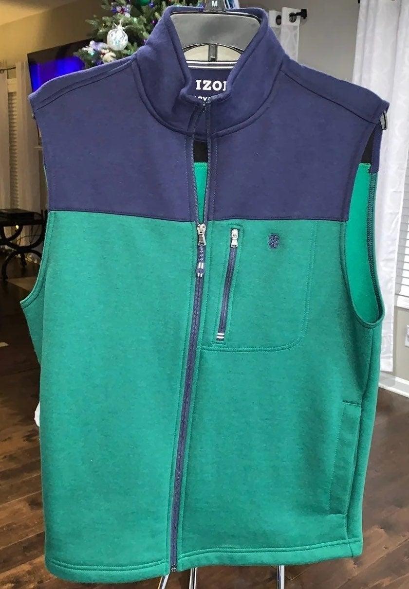 Men's Izod Performance Vest Size Small