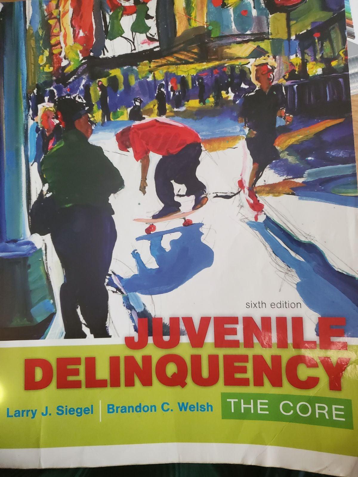 Juvenile Delinquency ISBN-13:9781305577
