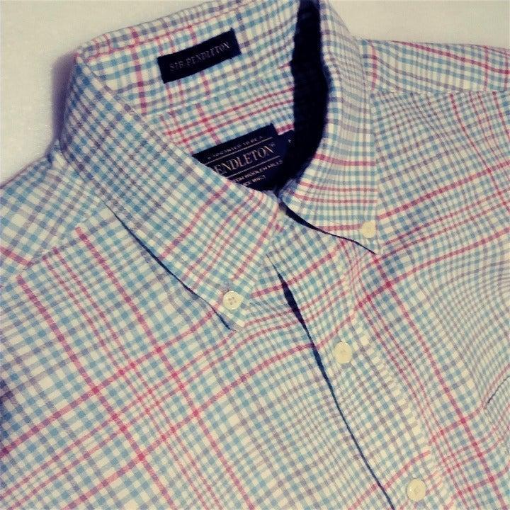 Sir Pendleton Wool L/S Button Up Shirt-M