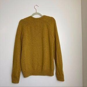 Lucky Brand Men's Mustard Sweater Large