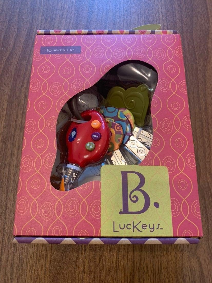 B. LucKeys Toy Key Set by B. Smart