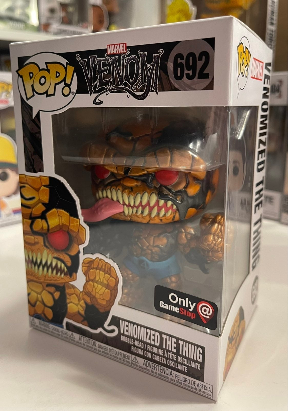 METALLIC Venomized The Thing POP! 10/10