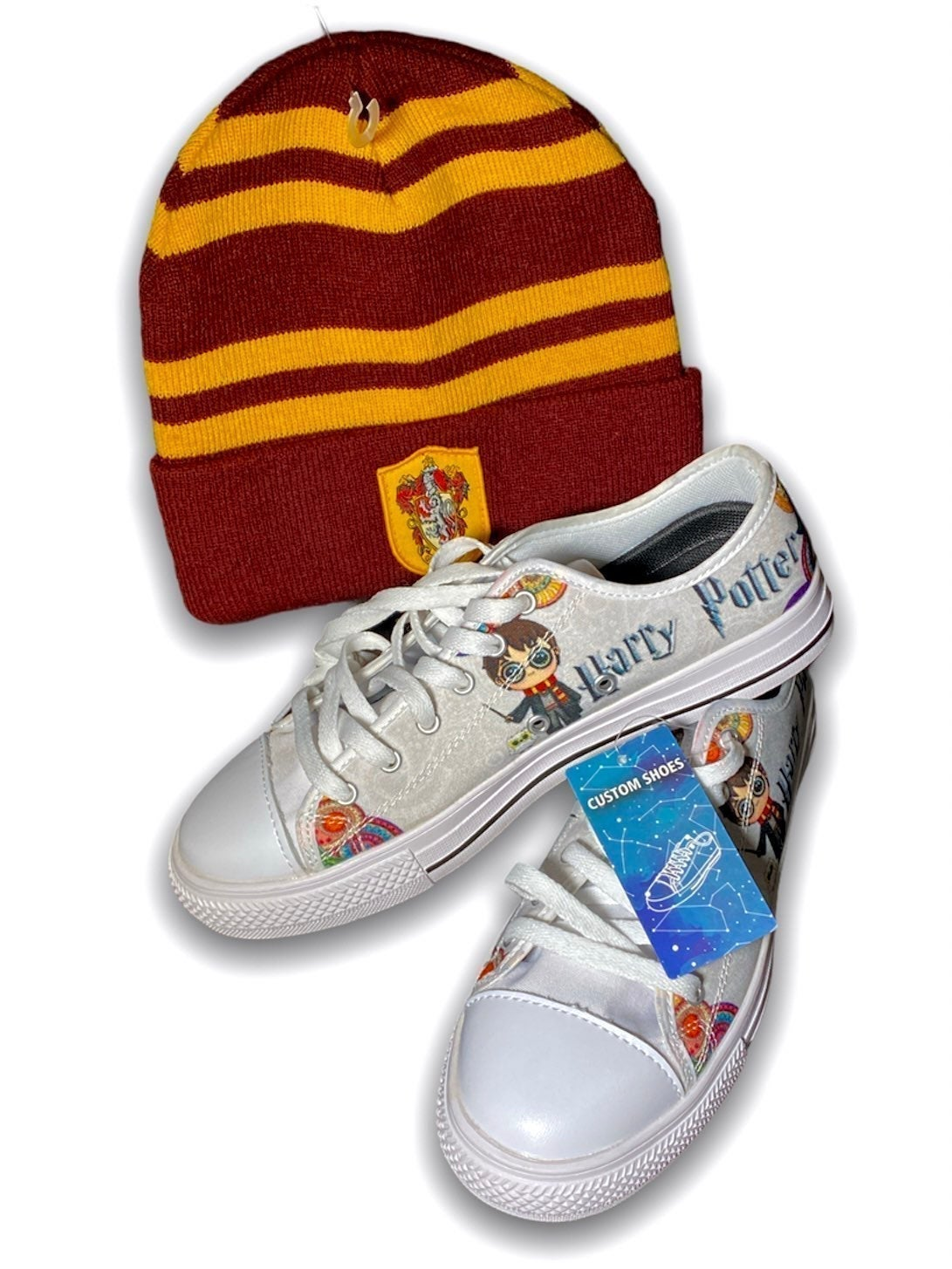 Harry Potter Shoes / Gryffindor Beanie