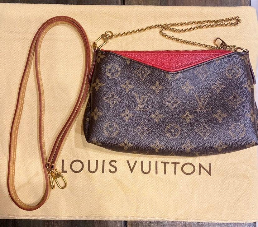 Louis Vuitton Cerise Pallas Clutch/Cross