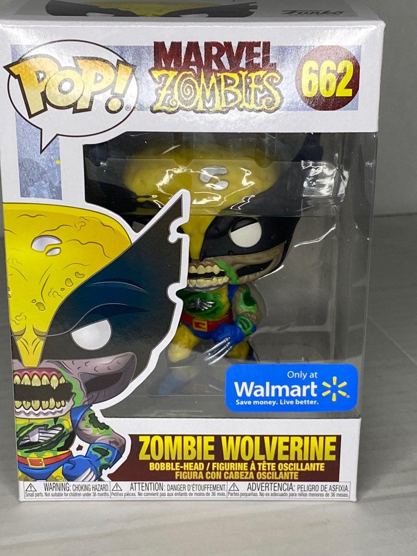Zombie Wolverine Funko Pop 662