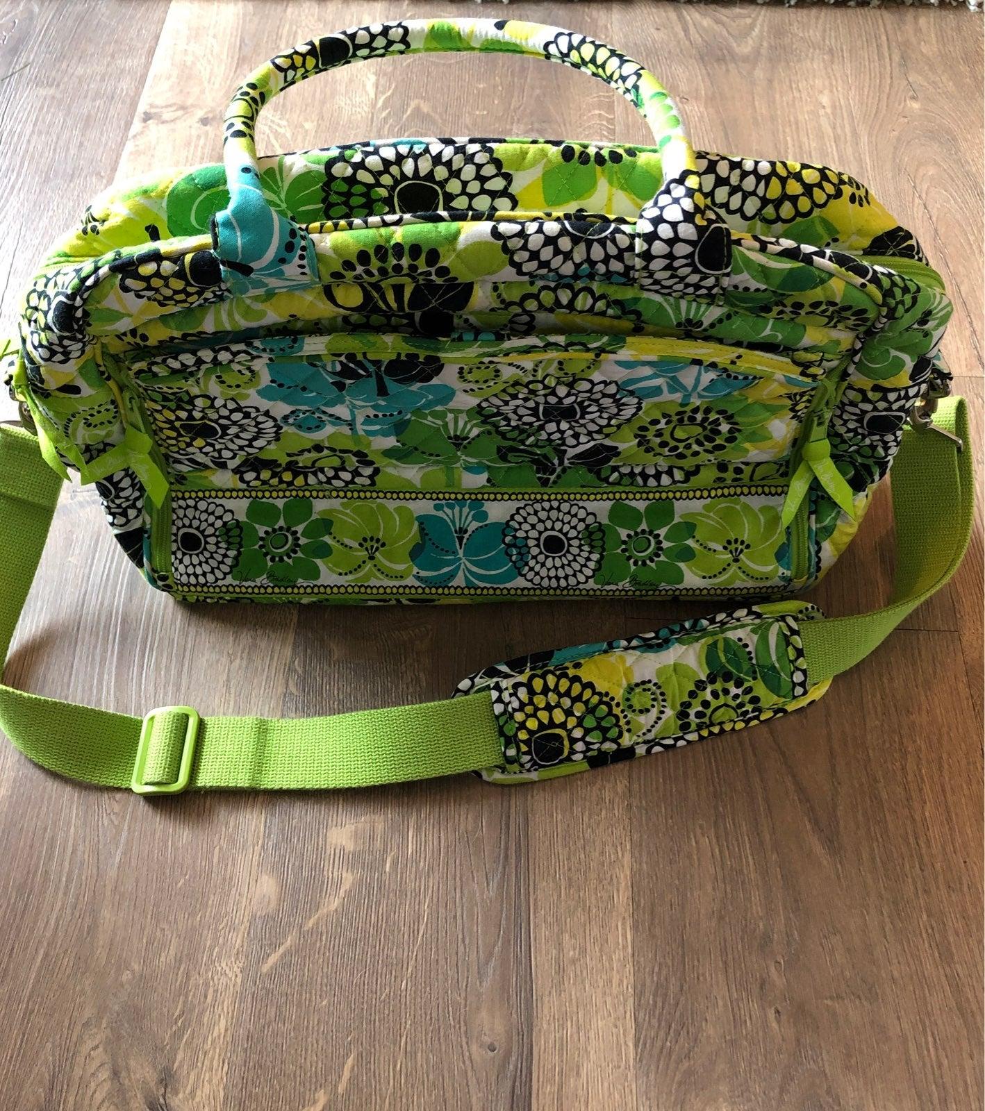 Vera Bradley Lime's Up Metropolitan Bag