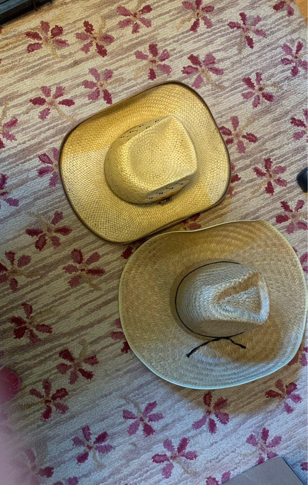 RESISTOL HAT 7/STRAW HAT
