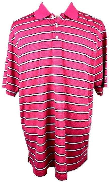 PGA Tour Golf Polo Shirt mens XL striped