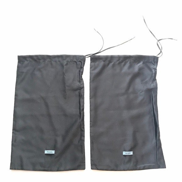 Prada Storage Duster Shoe Bags Satin