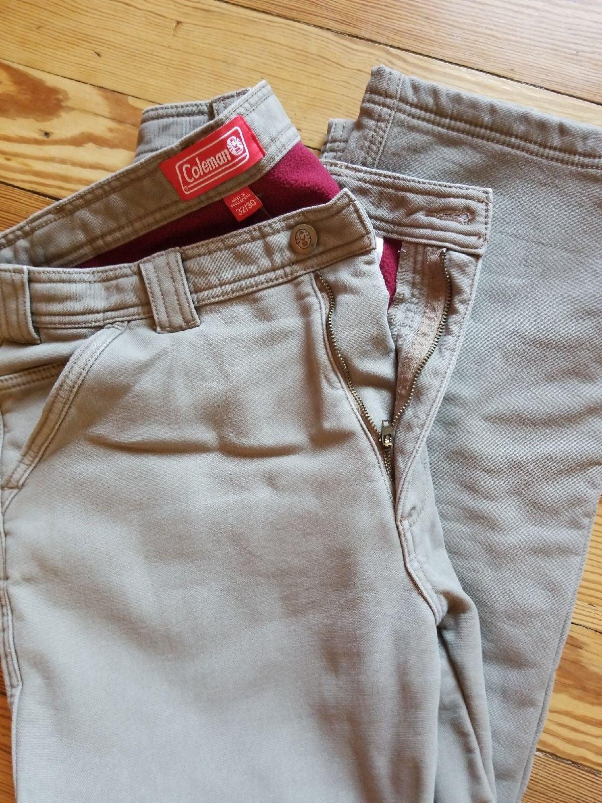 Coleman Fleece-lined work pants