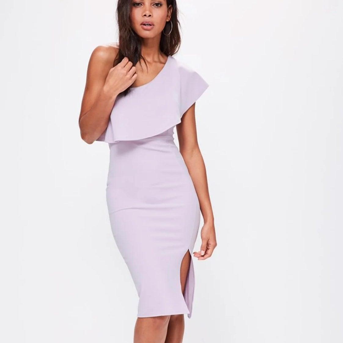 NWT Missguided Split Midi Dress