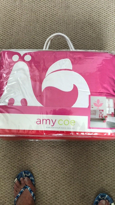 Girl's New Crib Set