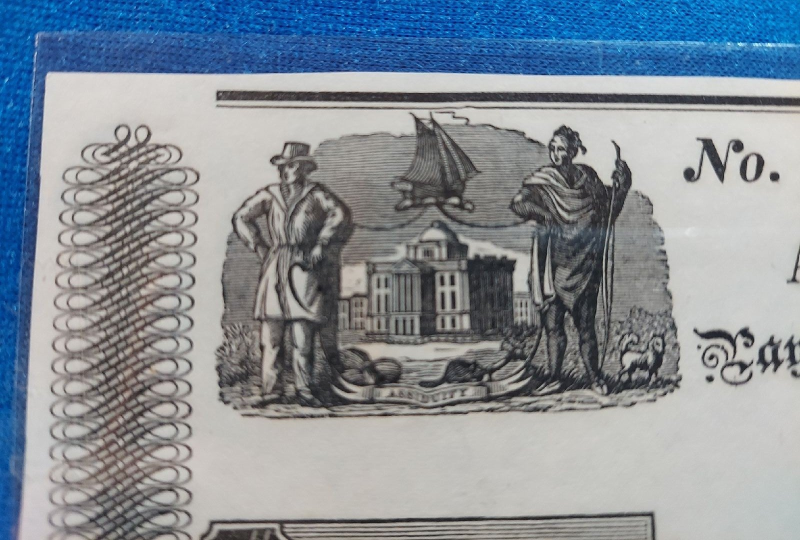 RARE Paper money, Unc. Early 1840's