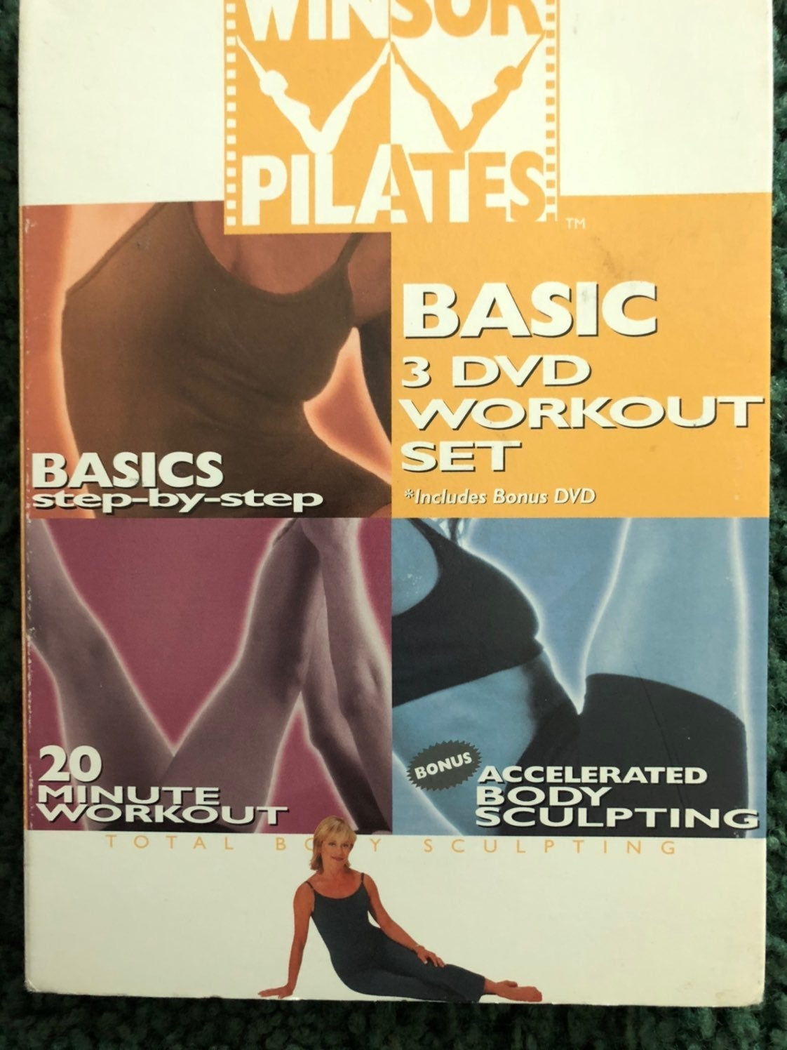 Winsor Pilates Basic 3 DVDs