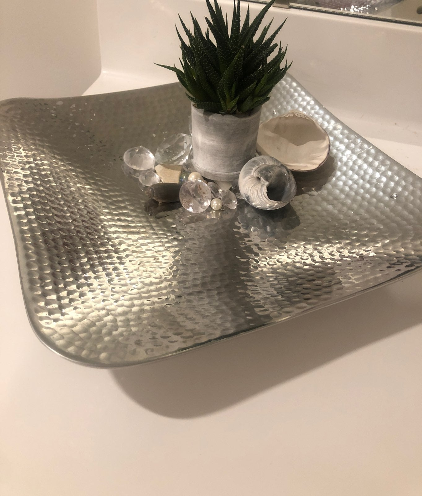Towle Hammered Serving Platter