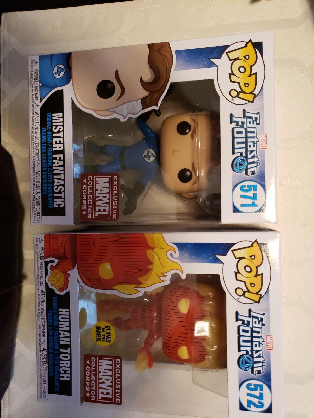 Fantastic Four pops