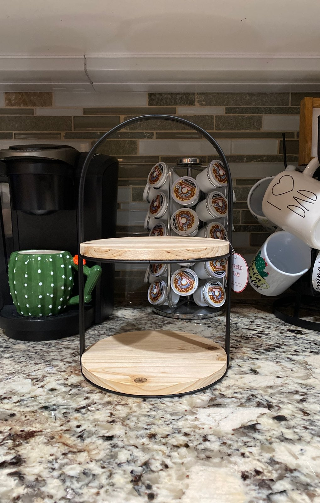 Target tiered tray