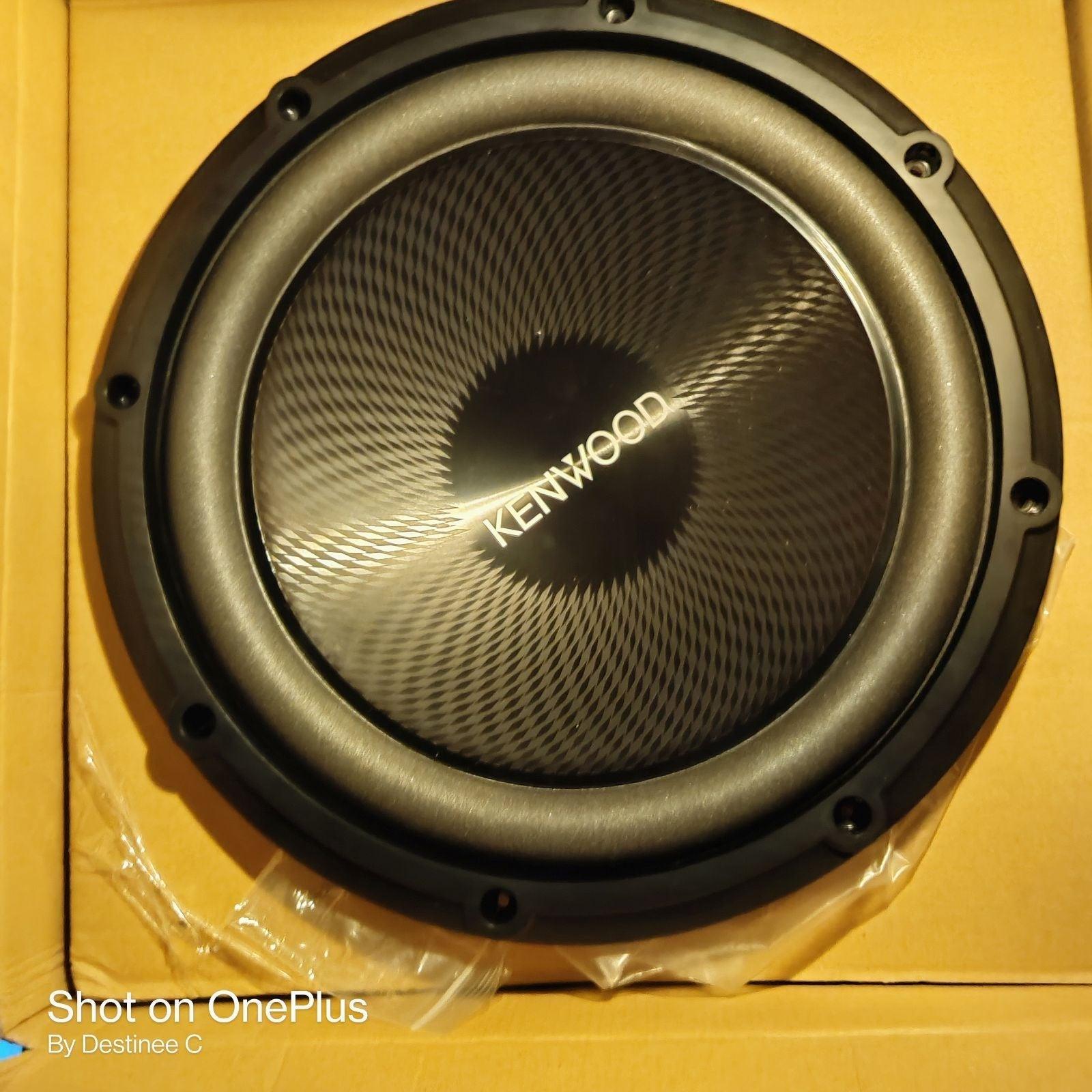 Kenwood Subwoofer Speaker